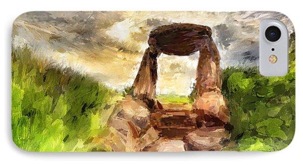 Little Stonehenge IPhone Case