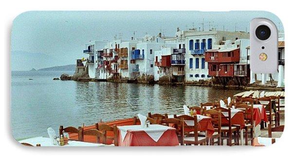 Little Venice On Mykonos IPhone Case