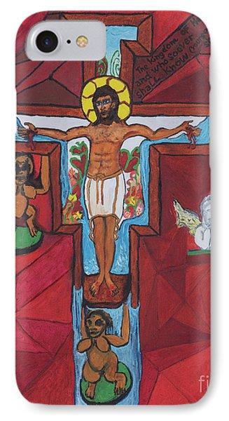 Living Christ Ascending IPhone Case
