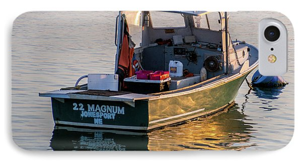 Lobster Boat Maine IPhone Case