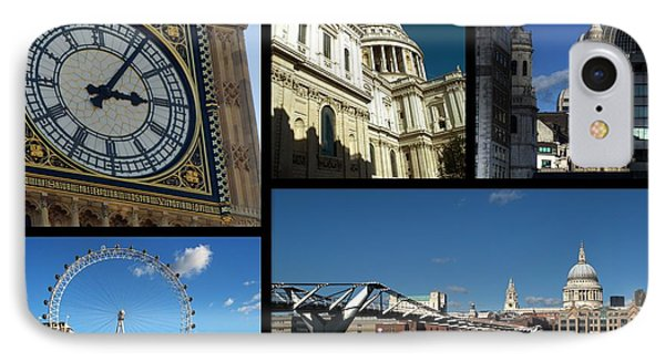 London Collage IPhone Case