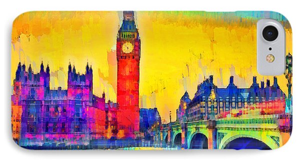 London Downtown - Pa IPhone Case