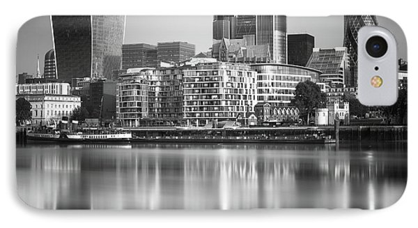 England iPhone 8 Case - London Financial District by Ivo Kerssemakers