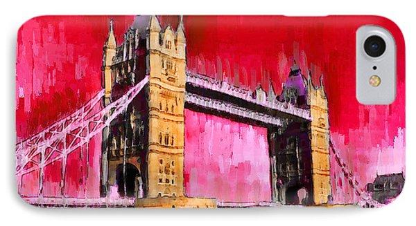London Tower Bridge 13 - Da IPhone Case