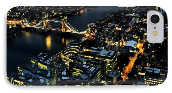 IPhone Case featuring the photograph London Tower Bridge At Night by Chris Feichtner