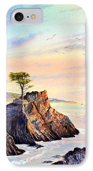 Lone Cypress Tree Pebble Beach IPhone Case