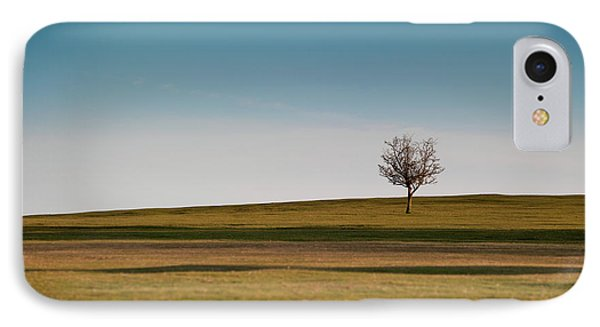 Lone Hawthorn Tree II IPhone Case
