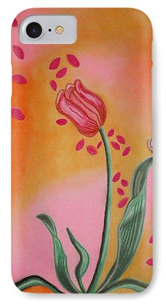 Lone Tulip IPhone Case