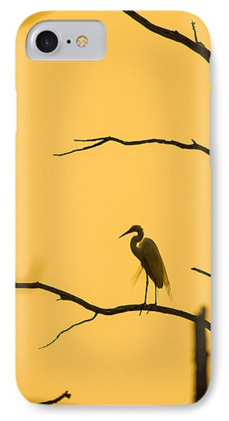 Lonely Silhouette IPhone Case