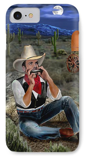Lonesome Cowboy IPhone Case