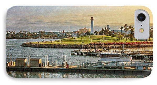 Long Beach - Rainbow Harbor Lighthouse IPhone Case