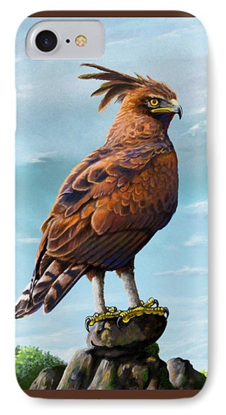 Long Crested Eagle IPhone Case