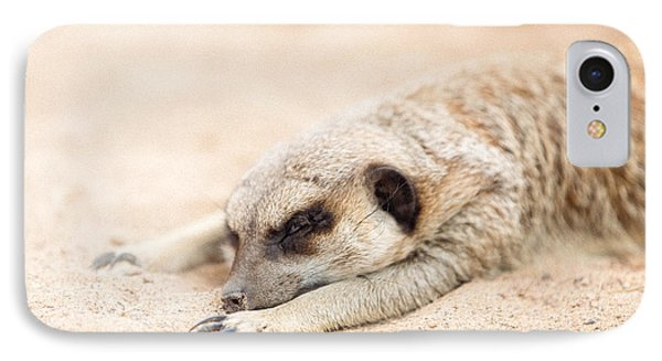 Long Day In Meerkat Village IPhone Case