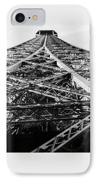 Looking Up From The Eiffel Tower IPhone Case