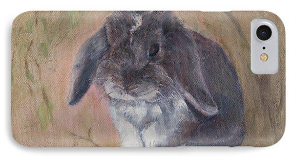Lop Eared Rabbit- Socks IPhone Case