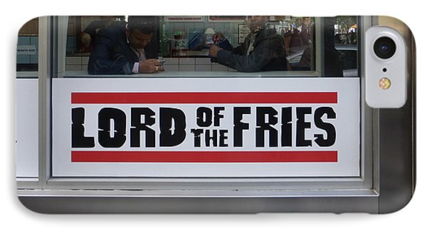 Lord Of The Fries IPhone Case