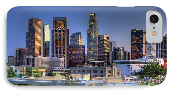 Los Angeles Skyline IPhone Case