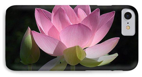 Lotus Bud--snuggle Bud Dl005 IPhone Case