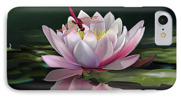 Lotus Meditation IPhone Case