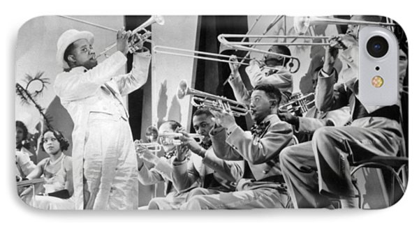 Trombone iPhone 8 Case - Louis Armstrong by American School