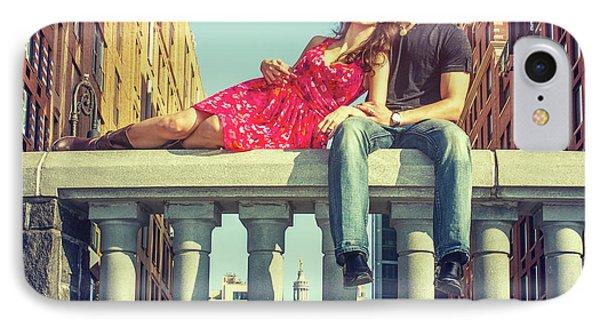 Love In Big City IPhone Case