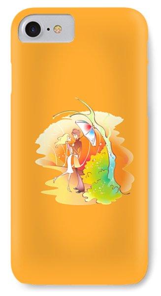 Love Shower T-shirt IPhone Case