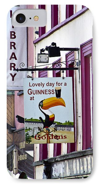 Lovely Day For A Guinness Macroom Ireland IPhone Case