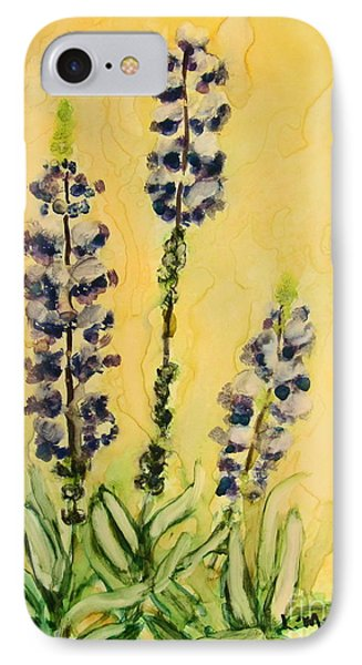 Lovely Lupines IPhone Case
