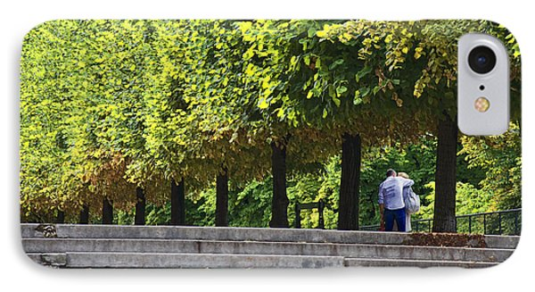Lovers In The Tuileries IPhone Case