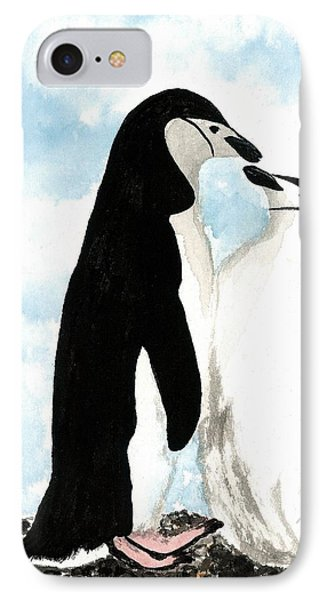 Loving Penguins IPhone Case