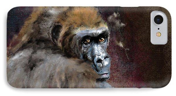 Lowland Gorilla IPhone Case