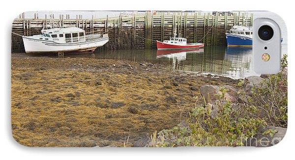 Lowtide Fishing Boats IPhone Case