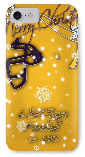 Lsu Tigers Christmas Card 2 IPhone Case