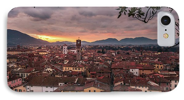 Lucca In Tuscany IPhone Case