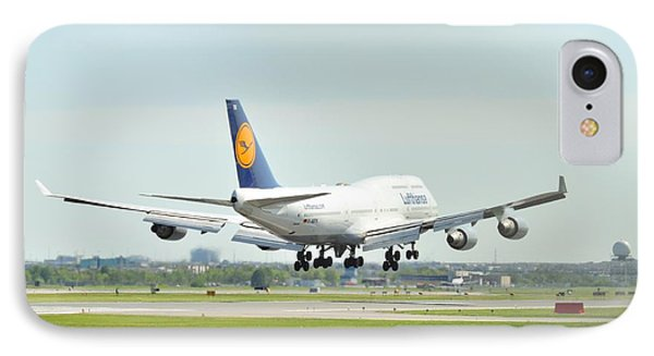 Lufthansa Airlines 747 IPhone Case