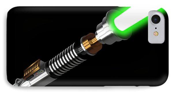 Luke's Lightaber IIi IPhone Case