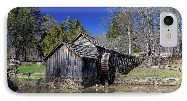 Mabry Mill Late Fall IPhone Case