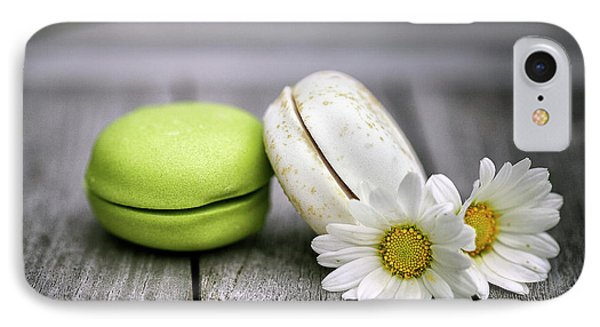 Daisy iPhone 8 Case - Macarons by Nailia Schwarz