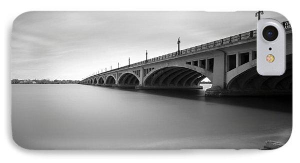 Macarthur Bridge To Belle Isle Detroit Michigan IPhone Case
