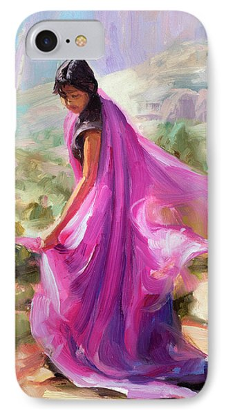 Beauty In Nature iPhone 8 Case - Magenta In Zion by Steve Henderson