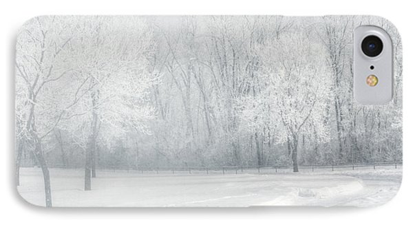 magical Winter day IPhone Case