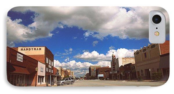 Main Street U.s. A.  IPhone Case