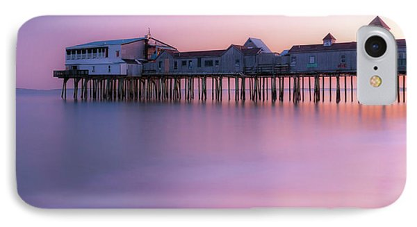 Maine Oob Pier At Sunset Panorama IPhone Case