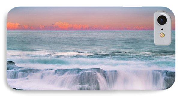 Maine Rocky Coastal Sunset Panorama IPhone Case