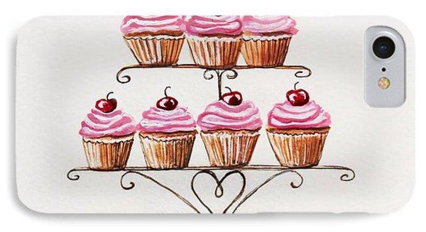 Mamie's Cupcakes IPhone Case
