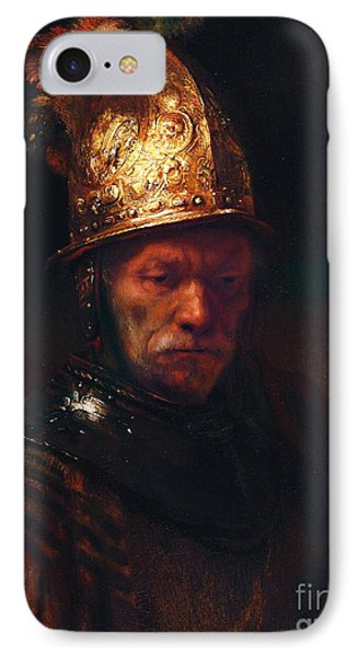 Man With The Golden Helmet IPhone Case