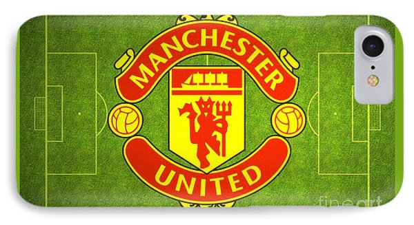 Manchester United Theater Of Dreams Large Canvas Art, Canvas Print, Large Art, Large Wall Decor IPhone Case