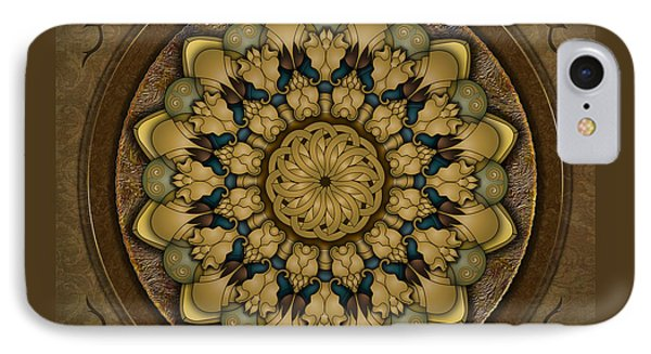 Mandala Earth Shell IPhone Case