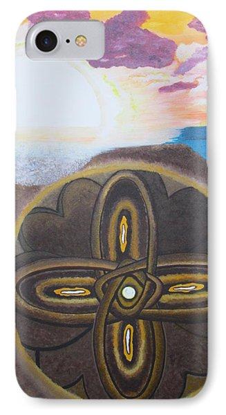 Mandala In The Sand IPhone Case