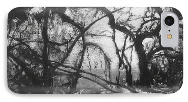 Mangroves By Moonlight IPhone Case